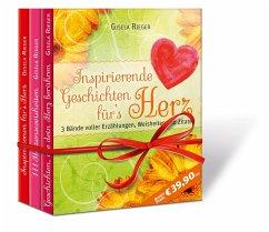 Inspirierende Geschichten für`s Herz. 3 Bände - Rieger, Gisela
