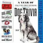 2019 a Year of Dog Trivia Colour Page-A-Day Calendar