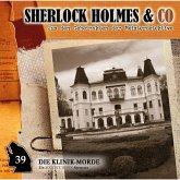 Sherlock Holmes & Co, Folge 39: Die Klinik-Morde (MP3-Download)