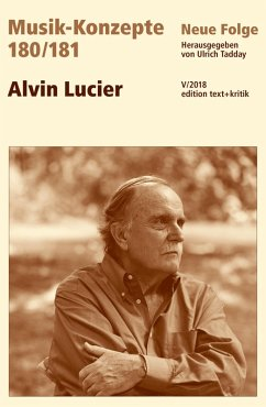 MUSIK-KONZEPTE 180/181 : Alvin Lucier (eBook, PDF)
