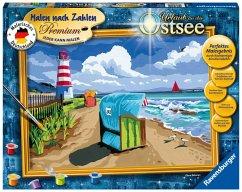Urlaub an der Ostsee / Malen nach Zahlen - Jede...