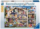 Ravensburger 17434 - Gelini Puppenhaus, 5000 Teile, Puzzle