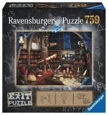 Ravensburger 19950 - Exit 1, Sternwarte, Puzzle, 759 Teile