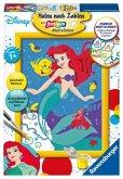 Ravensburger 27787 - Malen nach Zahlen, Disney Arielle, die Meerjungfrau, MNZ, Malset