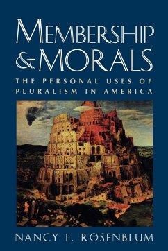 Membership and Morals (eBook, PDF)