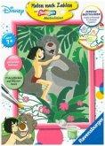 Ravensburger 27785 - Malen nach Zahlen, Disney Das Dschungelbuch, MNZ, Malset