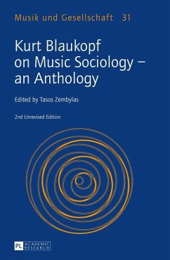 Kurt Blaukopf on Music Sociology - an Anthology (eBook, ePUB)