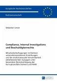 Compliance, Internal Investigations und Beschuldigtenrechte (eBook, PDF)