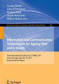 Information and Communication Technologies for Ageing Well and e-Health (eBook, PDF)