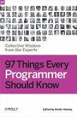 97 Things Every Programmer Should Know (eBook, ePUB)