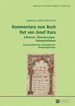 Kommentare zum Buch Rut von Josef Kara (eBook, ePUB) - Lederer-Bruchner, Ingeborg