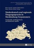 Niederdeutsch und regionale Umgangssprache in Mecklenburg-Vorpommern (eBook, ePUB)