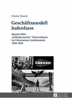 Geschaeftsmodell Judenhass (eBook, ePUB) - Ruault, Franco