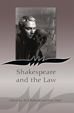 Shakespeare and the Law (eBook, PDF)