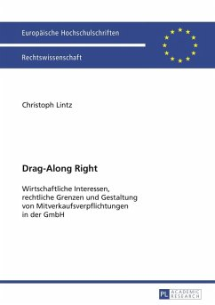 Drag-Along Right (eBook, PDF) - Lintz, Christoph