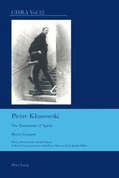 Pierre Klossowski (eBook, PDF) - Castanet, Herve