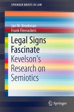 Legal Signs Fascinate (eBook, PDF) - Broekman, Jan M.; Fleerackers, Frank