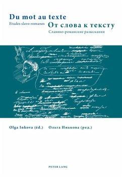 Du mot au texte- zN N N N N N (eBook, PDF)