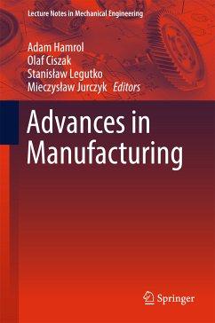 Advances in Manufacturing (eBook, PDF)
