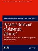 Dynamic Behavior of Materials, Volume 1 (eBook, PDF)