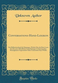 Conversations-Hand-Lexikon - Author, Unknown