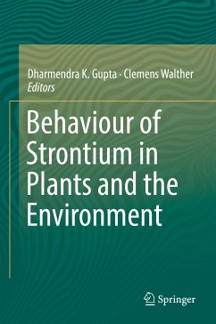 Behaviour of Strontium in Plants and the Environment (eBook, PDF)