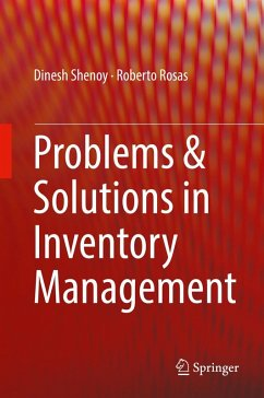 Problems & Solutions in Inventory Management (eBook, PDF) - Shenoy, Dinesh; Rosas, Roberto