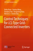 Control Techniques for LCL-Type Grid-Connected Inverters (eBook, PDF)