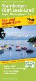 PublicPress Rad- und Wanderkarte Starnberger Fünf-Seen-Land