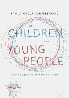 Family Group Conferencing with Children and Young People (eBook, PDF) - Fox, Darrell