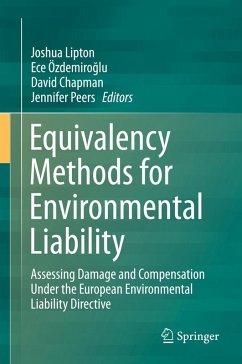 Equivalency Methods for Environmental Liability (eBook, PDF)