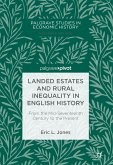 Landed Estates and Rural Inequality in English History (eBook, PDF)