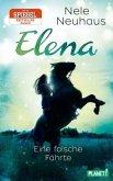 Eine falsche Fährte / Elena - Ein Leben für Pferde Bd.6 (Mängelexemplar)