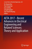 AETA 2017 - Recent Advances in Electrical Engineering and Related Sciences: Theory and Application (eBook, PDF)