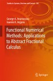 Functional Numerical Methods: Applications to Abstract Fractional Calculus (eBook, PDF)