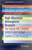 High-Mountain Atmospheric Research (eBook, PDF)