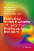 Limiting Global Warming to Well Below 2 °C: Energy System Modelling and Policy Development (eBook, PDF)