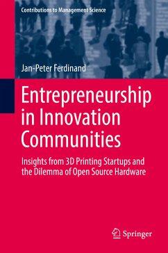 Entrepreneurship in Innovation Communities (eBook, PDF) - Ferdinand, Jan-Peter