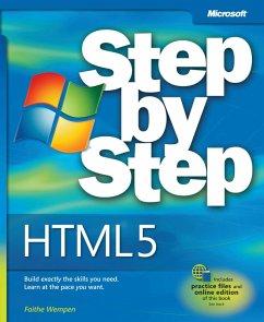 HTML5 Step by Step (eBook, PDF) - Wempen, Faithe