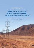 Energy Politics and Rural Development in Sub-Saharan Africa (eBook, PDF)