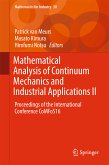 Mathematical Analysis of Continuum Mechanics and Industrial Applications II (eBook, PDF)