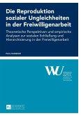 Die Reproduktion sozialer Ungleichheiten in der Freiwilligenarbeit (eBook, ePUB)