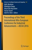 Proceedings of the Third International Afro-European Conference for Industrial Advancement - AECIA 2016 (eBook, PDF)