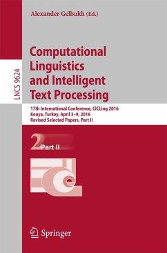 Computational Linguistics and Intelligent Text Processing (eBook, PDF)