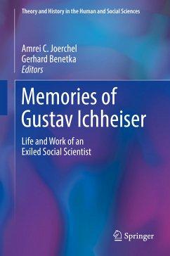 Memories of Gustav Ichheiser (eBook, PDF)