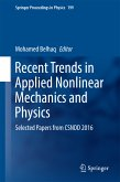 Recent Trends in Applied Nonlinear Mechanics and Physics (eBook, PDF)