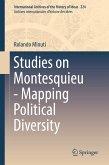 Studies on Montesquieu - Mapping Political Diversity (eBook, PDF)