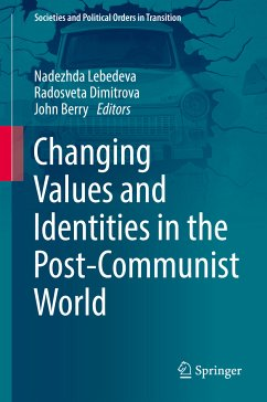 Changing Values and Identities in the Post-Communist World (eBook, PDF)