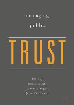 Managing Public Trust (eBook, PDF)