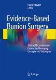 Evidence-Based Bunion Surgery (eBook, PDF)